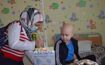 Sumy Muslims Visited The Cancer-Stricken Children