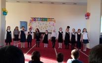 Гімназисти потішили гостей віршами про сім'ю, дружбу, любов до України.