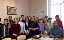 Открытый урок в Киевской гимназии восточных языков