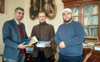 Библиотека Львовского национального университета пополнилась подаренными мусульманами книгами