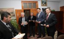 """ممثل الرئيس الأوكراني يزور مكتب ومراكز اتحاد """"الرائد"""" في القرم"""