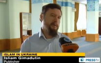 Ukrainian Muslims popularizing Islamic teachings