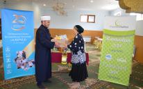 210 Grocery Packs from Muslimehelfen for Poor Ukrainian Muslims