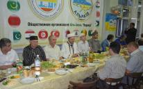 الرائد يجمع مسلمي الدونباس شرق أوكرانيا حول مائدة إفطار رمضاني