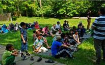 День семьи в ИКЦ Киева: квесты, спорт и трапеза на свежем воздухе