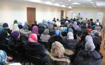 """""""قلبان يسعيان إلى الجنة"""".. عنوان دورة ثقافية لحصانة الأسر المسلمة في كييف"""
