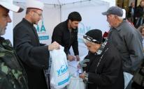 Понад 7 тонн м'яса роздали нужденним Ісламські центри «Альраід» під час святкування Курбан-Байрам
