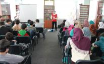 Young Muslims from Kharkov learn to give emergency medical aid