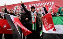 «Конвой совести» от Стамбула до границы с Сирией — в защиту прав пленниц режима Асада