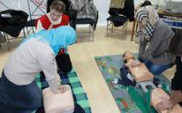 Красный крест и полумесяц: мусульманки Харькова учились оказывать первую помощь