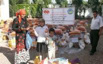 """""""Альраид"""" раздает продукты питания среди малоимущих мусульманских семей в Крыму"""