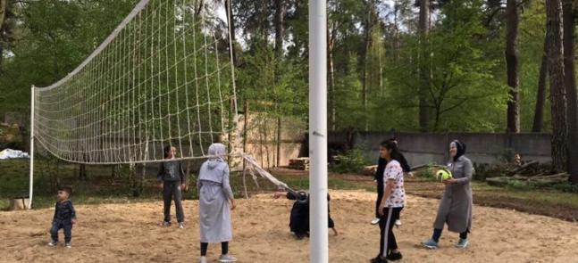 Подготовка к Рамадану с играми и конкурсами: собрание молодежного клуба «Марьям» в Бучацком парке