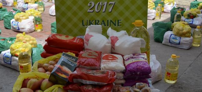 Від німецьких мусульман — українським: харчові набори для бідних у місяць Рамадан