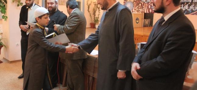 الرائد يجمع حفظة أوكرانيا في مسابقته السنوية للقرآن الكريم