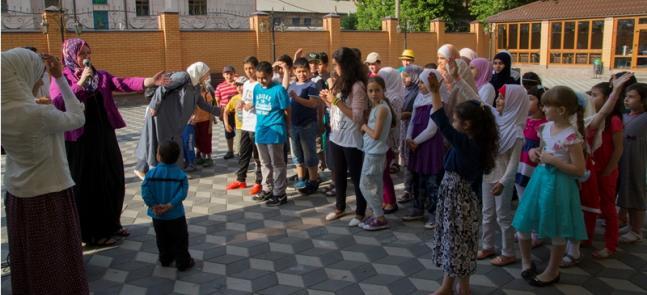 Детский летний лагерь завершился поисками «шоколадного золота»