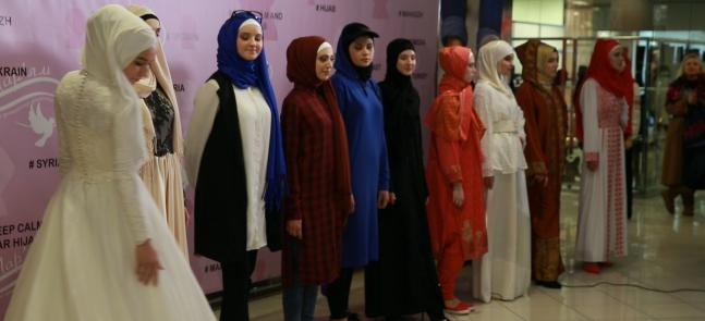 Hijab is a Fancy and Appropriate Garment for All Spheres of Life: a Fashion Show in Kyiv