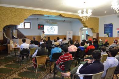 День арабского языка в ИКЦ Запорожья