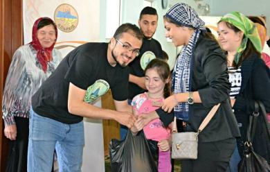 Ифтар-пакеты для нуждающихся