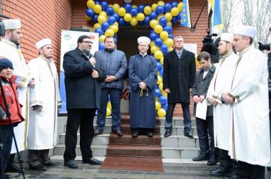 """في دنيبروبيتروفسك.. """"الرائد"""" و""""أمة"""" يفتتحان عاشر المراكز الإسلامية في أوكرانيا"""