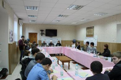 Круглый стол в Исламском культурном центре «Аль-Масар» первые собрал молодых людей