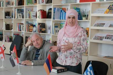 Диалекты крымскотатарского языка на Европейском дне языков в Запорожье