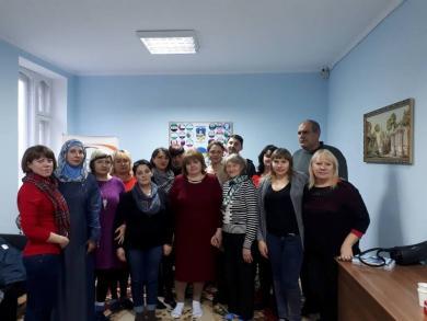 Участники областного форума Сумщины — в гостях в местном ИКЦ