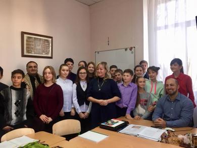 Відкритий урок у Київській гімназії східних мов
