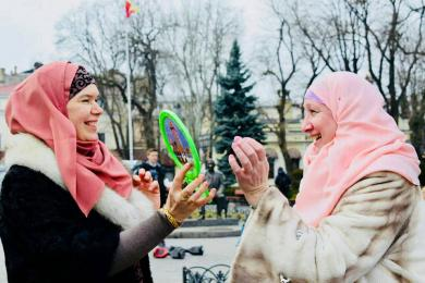 «Угнетение или свобода»: социальный эксперимент в центре Одессы