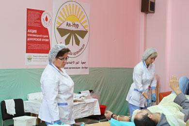 Кровь мусульман спасет тяжелобольных людей в Украине