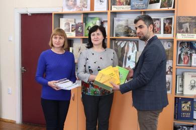 ИКЦ Львова пополняет фонды библиотек Мукачево и Тернополя