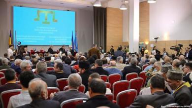 Представители ОСВА «Альраид» на открытии конференции Курултая