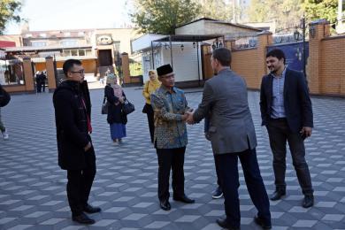Украинские и индонезийские мусульмане будут сотрудничать теснее