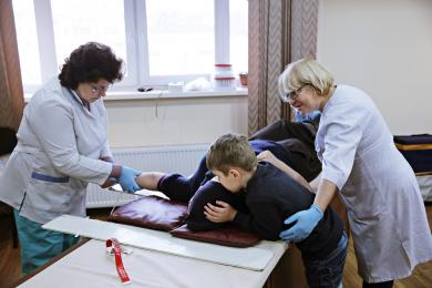 Очередная акция «Стань донором!»: 9 литров крови и 1892 гривны на реабилитацию больного сироты