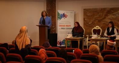 Українські мусульманки скликали й провели правозахисну конференцію