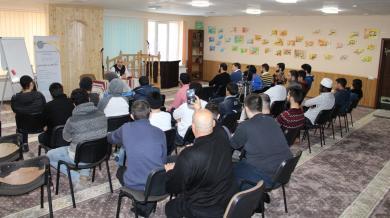 Духовные занятия в ИКЦ Львова: верующие рассуждали о себе и своих взаимоотношениях с обществом