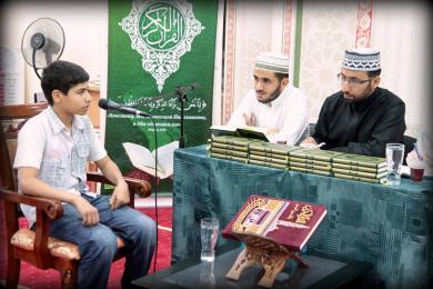 Нагородження кращих читців Священної Книги в Ісламських центрах «Альраід» (ФОТО)