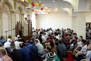 Исламские центры «Альраид» отмечают Ид аль-Фитр