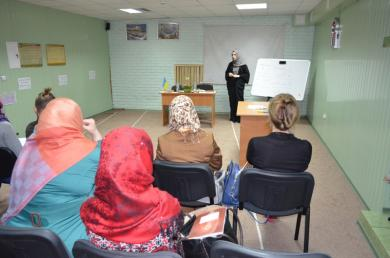 Поддержка словом, делом и советом: женский семинар в Сумах