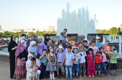 Детский летний семинар в Донецке: основы Ислама и интересные экскурсии