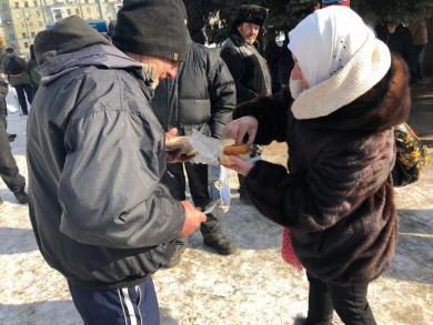Усилились морозы — усилим внимание к бездомным, которые могут замерзнуть!