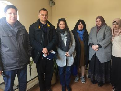 Инспекторы ОБСЕ в ИКЦ Запорожье интересовались проблемами  этнических, религиозных меньшинств и вынужденных переселенцев