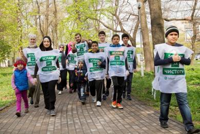 Ислам таки за чистоту: места отдыха в городах Украины стали чище усилиями местных мусульман
