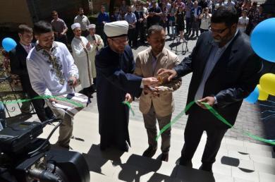 """""""الرائد"""" يفتتح أول مركز ثقافي إسلامي في غرب أوكرانيا والعاشر فيها"""