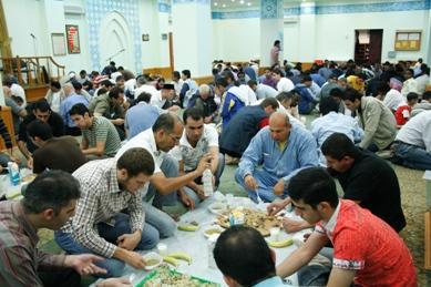الإفطارات الجماعية في المراكز الثقافية الإسلامية وجمعيات الاتحاد