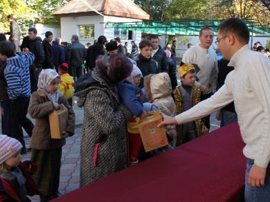 عيد الاضحى المبارك 1432هـ في أقاليم ومدن أوكرانيا