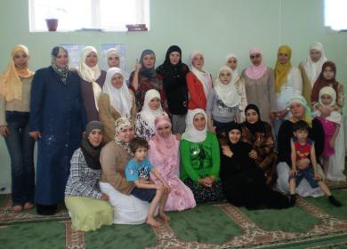 «Альраид» проводит летний лагерь для украинских мусульманок