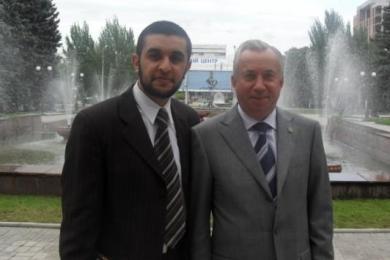 Организацию «Аль-Амаль» наградил Донецкий городской глава