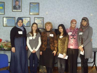 Харьковские мусульманки подарили праздник детям из реабилитационного центра