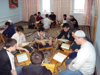 مركز الرضوان لتحفيظ القرآن الكريم في القرم جنوب أوكرانيا