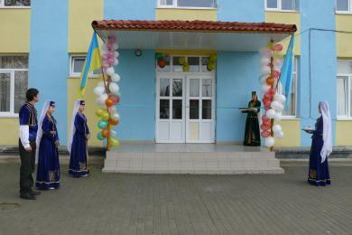 Реализованный проект реконструкции и технического обеспечения 16 крымско-татарских школ